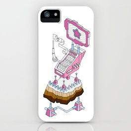 ornament_factory_2 iPhone Case