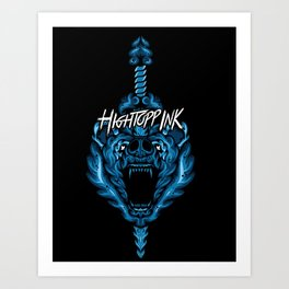 Bear Slayer Art Print