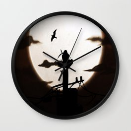tower incident Wall Clock