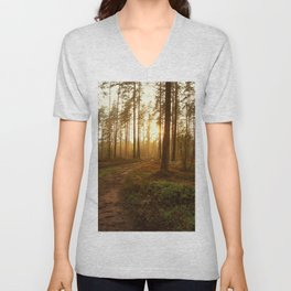 The Warmest Morning Unisex V-Neck