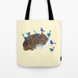 Wrens Wombat sleep Tote Bag