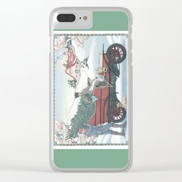 Seasons Greetings (from Steve and Bucky) Clear iPhone Case