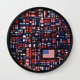 American Lines Wall Clock