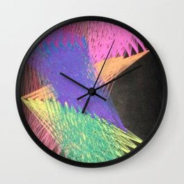 Screensaver from the 90s Wall Clock
