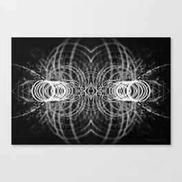 Alienate - Black and White Canvas Print