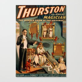 Thurston Magician Canvas Print