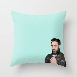 Jemaine Clement 3 Throw Pillow