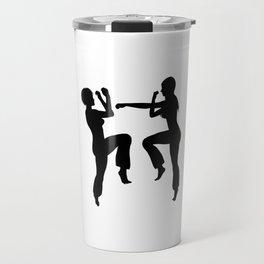 Martial Arts Girls Travel Mug