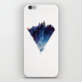 Near to the edge iPhone Skin