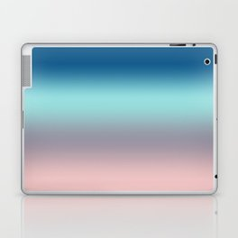Rose Quartz Lilac Gray Limpet Shell Snorkel Blue Ombre Laptop & iPad Skin