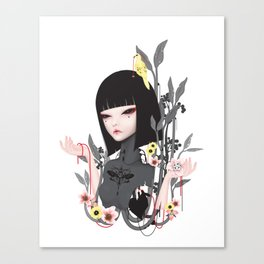 broken doll no.2 Canvas Print