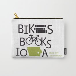 Bikes Books Iowa Carry-All Pouch