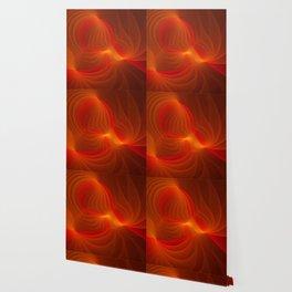 Much Warmth, Abstract Fractal Art Wallpaper