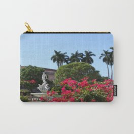 Bougainvillea Row Carry-All Pouch