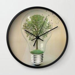 green ideas 02 Wall Clock
