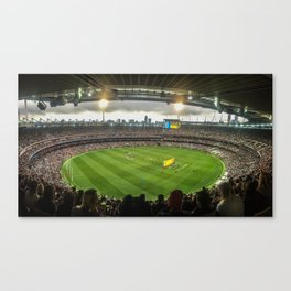 Let the Games Begin at the MCG Canvas Print