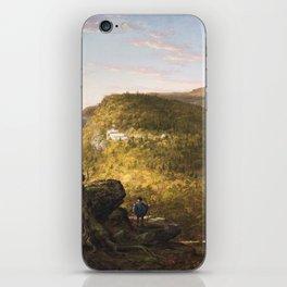Catskill Mountains - Thomas Cole, 1844 iPhone Skin