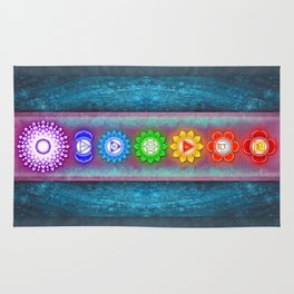 The Seven Chakras VI - Series VI Rug