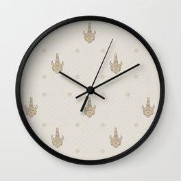 samulet pattern Wall Clock