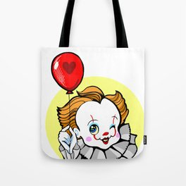Pennywise the Winking chibi clown Tote Bag