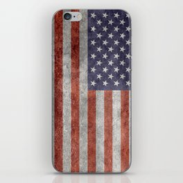 United States of America Flag 10:19 G-spec Vintage iPhone Skin
