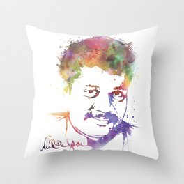 Splatter Tyson Throw Pillow