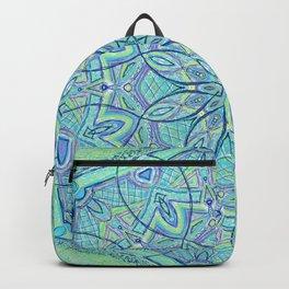 Heart of the Forest - Mandala Design Backpack