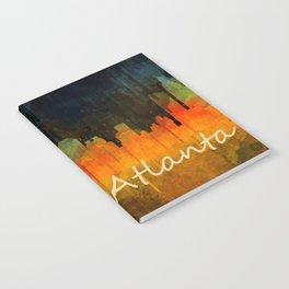 Atlanta City Skyline UHq v4 Notebook