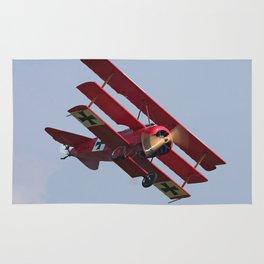 Fokker Dr1 - Red Baron  Triplane Rug