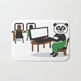 Panda Teacher Bath Mat