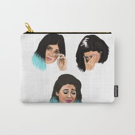 Krying Kylie Jenner Carry-All Pouch
