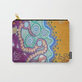 Rainbow Serpent Carry-All Pouch