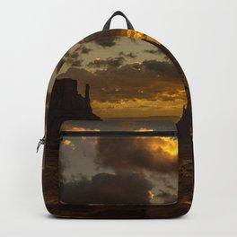 Monument Valley - Vivid Sunrise Backpack