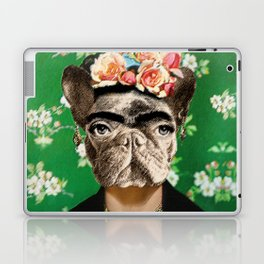 Frida Katy FrenchBulldog Laptop & iPad Skin