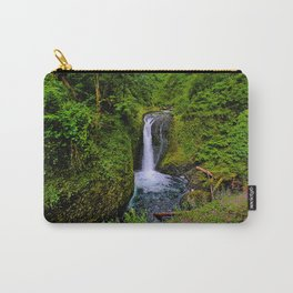 Columbia River Gorge Waterfall  Carry-All Pouch