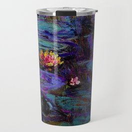 Water Lilies by Claude Monet Travel Mug