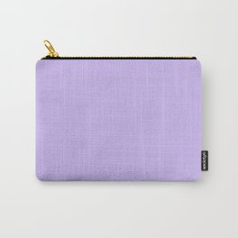 Monochrome collection Purple Carry-All Pouch