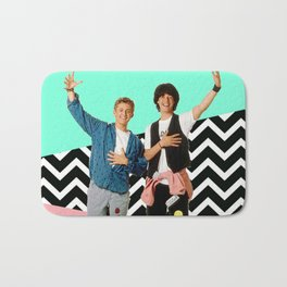 Bill and Ted Bath Mat