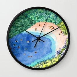 French Paradise Wall Clock