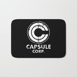 Capsule Corp Vintage white Bath Mat