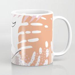 Jungle Line Girl Coffee Mug