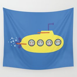 The Beagles - Yellow Submarine Wall Tapestry