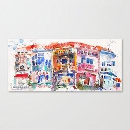 Shophouses @ Tyrwhitt Road, Singapore Canvas Print