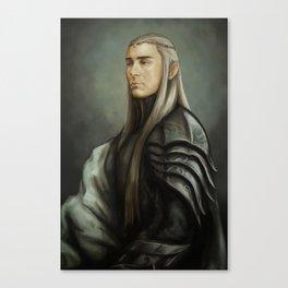 King Thranduil Canvas Print