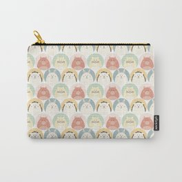 Round animal Carry-All Pouch