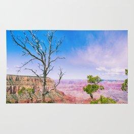 Tree at Grand Canyon's Edge Rug