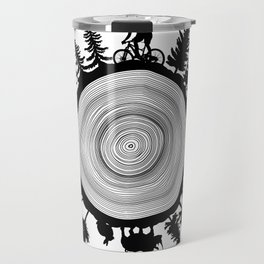Into The Woods - Tree Ring Travel Mug