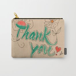 calligraphy, caligraphy, thank you, wall art, thank you card, home decoration, Yokohama, Carry-All Pouch