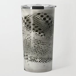 Summer hat photogram Travel Mug
