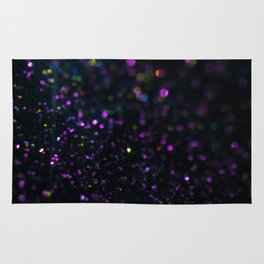 Abstract Purple Wallpaper Rug